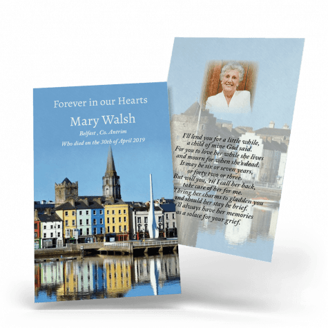 Waterford City Wallet Card